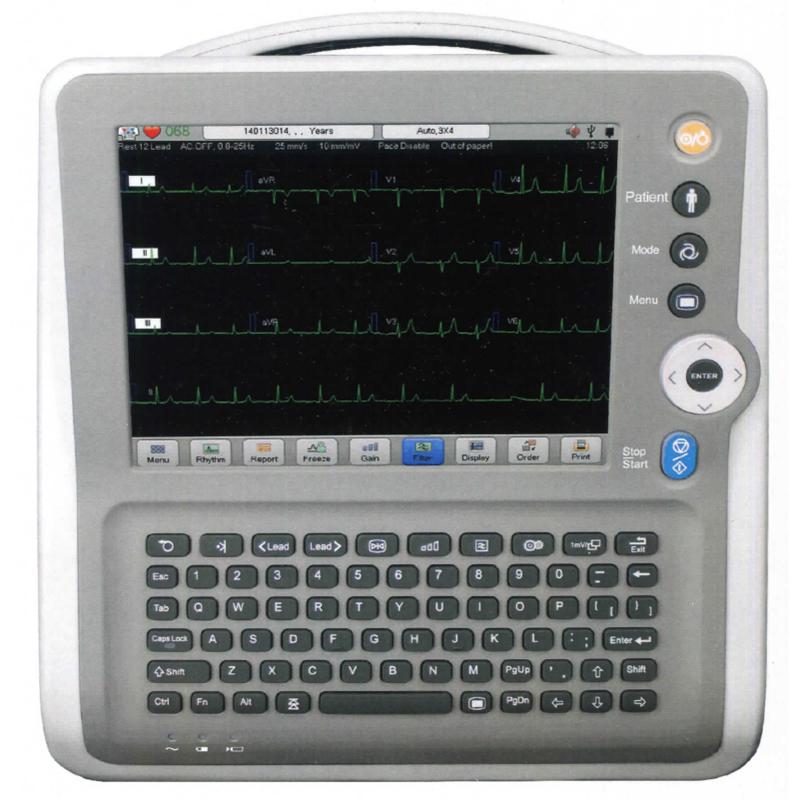 Máy điện tim kỹ thuật số 6 kênh - Neucardio E6pro